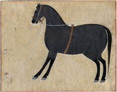 Grey Horse, Rajasthan, 18th century