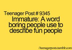 any1 who uses this word to describe me just needs to get a life!