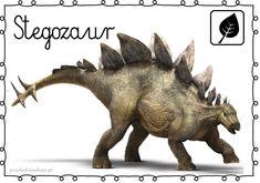 DINOZAURY – plansze – Przedszkolankowo Animal Activities For Kids, Shape Templates, Prehistoric Animals, Jurassic World, Moose Art, Lion Sculpture, Museum, Statue, Fantasy
