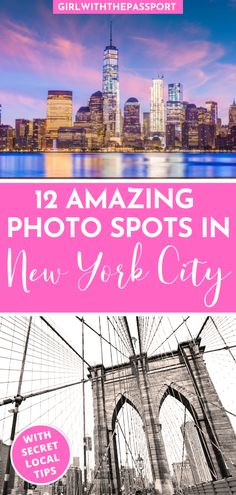 Check out these 12 amazing NYC photography locations, with secret tips on how to take the perfect photo from a local New Yorker. Travel Photos, Travel Tips, Travel Destinations, Holiday Destinations, Travel Guides, New York City Vacation, New York City Travel, Nyc Itinerary, Nyc Instagram