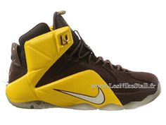 Officiel Nike Lebron 12/XII - Chaussures Nike Pas Cher Pour Homme Chevalier 684493-013