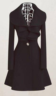 Black Pink Korean Fashion Ladies Clothing Winter Coat Dress Jacket Size XS L Coat Dress, Jacket Dress, Pink Winter Coat, Lolita, Up Girl, Dress Me Up, Autumn Winter Fashion, Autumn Fall, Mantel