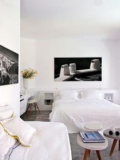 Un hotel en Santorini frente al volcán · ElMueble.com · Casas