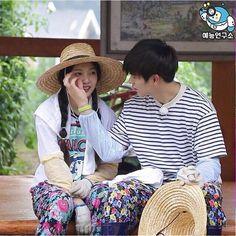 Yook Sungjae and Joy Wgm Couples, Cute Couples, South Korean Girls, Korean Girl Groups, Sungjae And Joy, Korean Tv Shows, Kdrama Memes, We Get Married, Asian Love