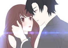รูปภาพ anime, couple, and gif