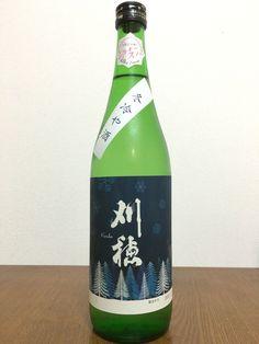 【日本酒】刈穂 純米酒 シルキースノー