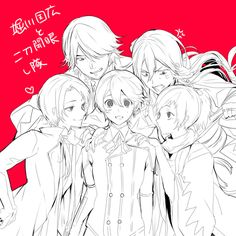 Chibi Boy, Anime Chibi, Manga Art, Anime Art, Cutest Couple Ever, Japanese Games, Nikkari Aoe, Touken Ranbu, Vocaloid
