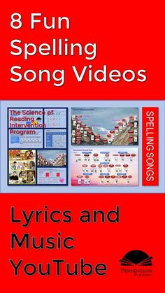 Your students will love these 8 spelling rule songs on YouTube. Get the rules, song lyrics, and video links, and turn 'em up! Response To Intervention, Reading Assessment, Reading Intervention, Teaching Reading Strategies, Reading Fluency, Reading Resources, Common Core Vocabulary, Phonics Books, 8th Grade Ela