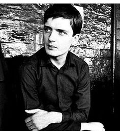 Ian Curtis of Joy Divsion Ian Curtis, Gothic Bands, Gothic Rock, Joy Division, Progressive Rock, Post Punk, Good Music, My Music, Music Bands