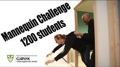 Mannequin challenge   1200 students, Gjøvik VGS
