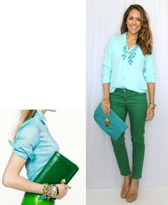 This is probably the greatest site ever! She takes magazine looks and copies them from stores we would shop at - Great outfit worker!  I can see different ways to work a piece of clothing into diff outfits!  awesome!  Check out the website!