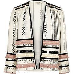 Girls white kimono