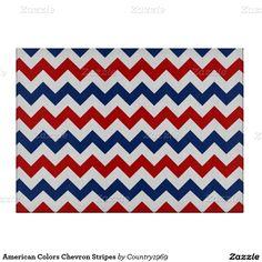 American Colors Chevron Stripes Cutting Boards