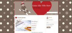 Sock Monkey Love WordPress Theme - FREE Lorem Ipsum, Wordpress Theme, Sock, Monkey, Blogging, Website Designs, Tips, Free, Princess