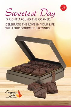 Brownies Chocolate Gift Basket Same Day Delivery At New Jersey