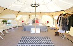 VIP luxury 5 meter Lotus Belle Tent.