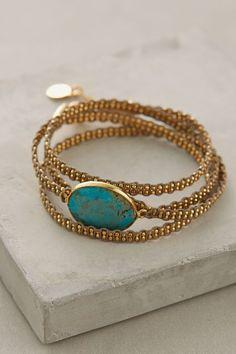 Geminiano Wrap Bracelet - anthropologie.com #anthrofave
