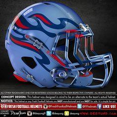 Tennessee Titans, NFL. Design concept