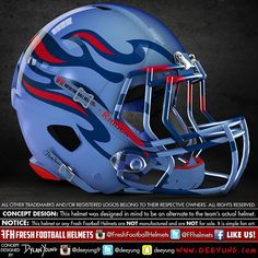 Tennessee Titans, NFL. Design concept