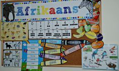ofamily learning together Home Daycare, Classroom Language, Afrikaans, Worksheets For Kids, Classroom Decor, Homeschool, Boards, Inspirational Quotes, Teaching