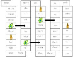 Oh My Little Classity Class: FRY words.  FREE game downloads - one game for every 20 words - 2 versions of play - great to increase automaticity and fluency!
