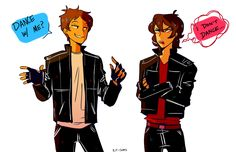 Are We There Yet?, im not saying grease au…but grease au
