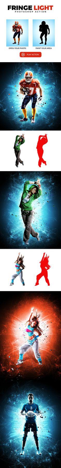 Fringe Light Photoshop Action #photoeffect Download: http://graphicriver.net/item/fringe-light-ps-action/14196533?ref=ksioks