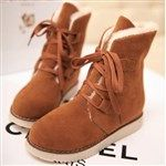 Winter Casual Shoes Laced Up Snow Warmer Shoes Boots http://www.coupon4free.com/stores/tinydeal/