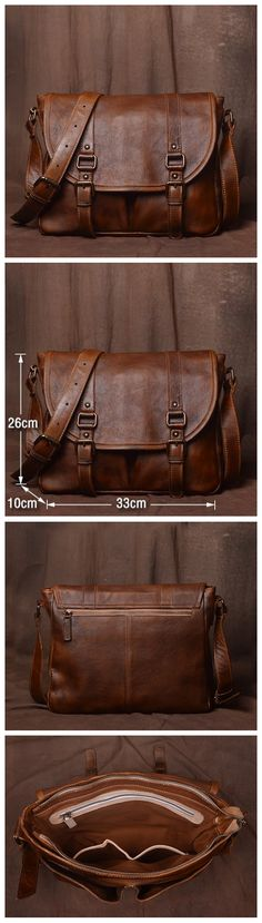 Mens Leather Bag, Leather Handmade Briefcase, Crossbody Business Bag 9042 - Men's style, accessories, mens fashion trends 2020 Brown Leather Totes, Black Leather Tote, Leather Briefcase, Leather Crossbody Bag, Leather Purses, Leather Men, Leather Handbags, Leather Backpack, Leather Bags