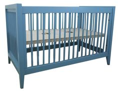 Bahama Blue Devon Crib from Newport Cottages