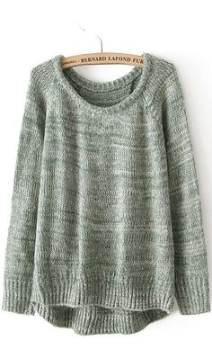 love love love sweaters like this one. Pair it with a simple pair of straight legged skinnies, or opaue leggings, patterned leg warmers and some cute boots! Add an infinity scarf, and you've got a fantastic autumn outfit!