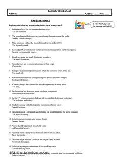 PASSIVE VOICE worksheet - Free ESL printable worksheets made by ...
