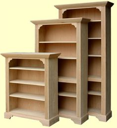 A Bookcase is a great project to take on if you are just a beginner and then do it yourself ranks, you can do a journeyman's job of building  handsome and sturdy bookcases because they can been design