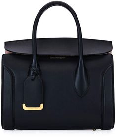 Alexander McQueen Heroine 30 Small Sweet Calf Leather Tote Bag Handbags Uk 02c712965a8cc