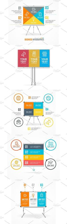 Concept of Business Infographic. Illustrations