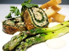 Watercress & Spinach Roulade