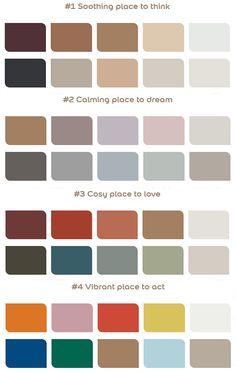 Palettes Dulux associées à Miel Ambré Hallway Paint Colors, Best Paint Colors, Colour Schemes, Color Trends, Benjamin Moore Colors, Color Harmony, Colour Board, Cool Paintings, Pantone Color