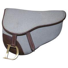 Brown Cloth Clutch bag Gaucho