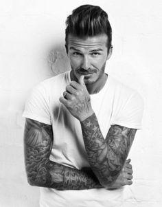 David Beckham <3 #sport #football #beckham #b&w #david beckham #david