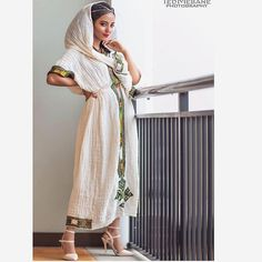 Happy Ethiopian New Year! Ethiopian Traditional Dress, Traditional Dresses, African Wedding Cakes, Habesha Kemis, Ethiopian Wedding, Ethiopian Dress, African Clothing For Men, African Design, African Dress