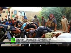Obama asks Congress to send weapons to Syrian rebels - YouTube
