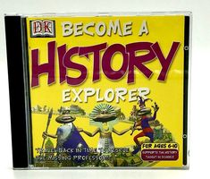 Become A History Explorer Pc Cd Rom Dorling Kindersley Knowledge Educational Vgc Cds For Sale, Explore Travel, My Ebay, How To Become, Knowledge, Teaching, Education, History, Shop
