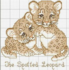 Atelier Colorido PX The spotted leopard