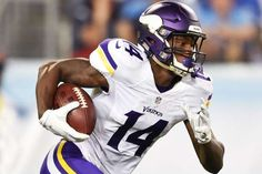 A fifth-round pick out of Maryland, Minnesota Vikings receiver Stefon Diggs is now looking like he s... - Ronald C. Modra/Sports Imagery/Getty Images