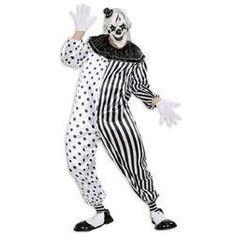 Te convertirás en un despiadado payaso loco, un arlequín muy malvado, vivirás un Halloween inolvidable.