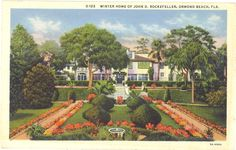 Winter home of John D. Rockefeller, Ormond Beach, Florida