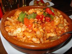 Migas, Spanish fried stale bread Chorizo, sometimes the body needs comfort food, it's not all protein madness!