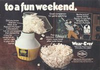 Wear-Ever Hot-Air Popcorn Pumper 1979 Ad Picture