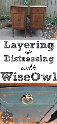Trying Out Wise Owl Chalk Synthesis Paint! - That Sweet Tea Life