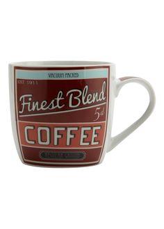 Matalan - Retro Coffee Mug